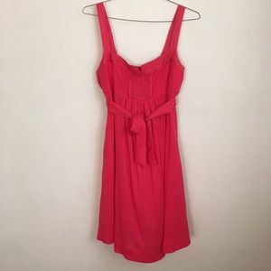 American Eagle Pink Empire Jersey Dress Size Large